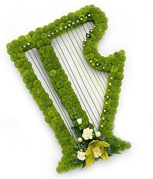 Irish Harp Tribute.