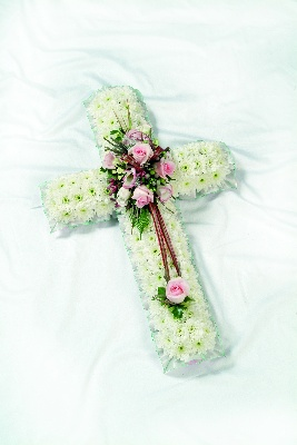 Based Cross with a Pink Cluster