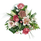 Pink Scented Posy