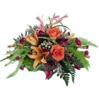 Orange and Pink Posy